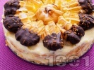 Рецепта Еклерова торта с ванилов крем